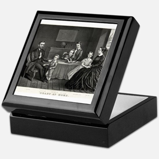 Grant at home - 1869 Keepsake Box