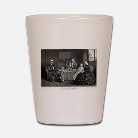 Grant at home - 1869 Shot Glass