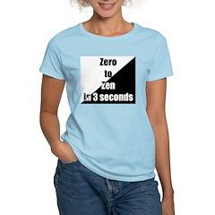 Zero to Zen Women's Pink T-Shirt