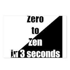 Zero to Zen Postcards (Package of 8)