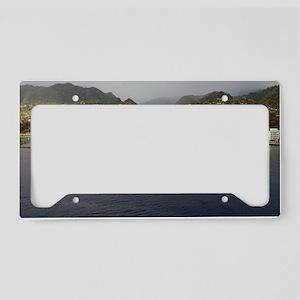 Roseau Dominica License Plate Holder
