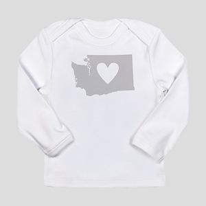 Heart Washington Long Sleeve Infant T-Shirt