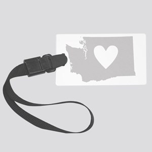 Heart Washington Large Luggage Tag