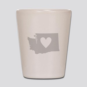 Heart Washington Shot Glass