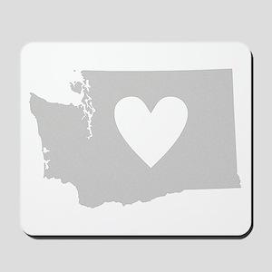 Heart Washington Mousepad