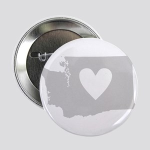 "Heart Washington 2.25"" Button"