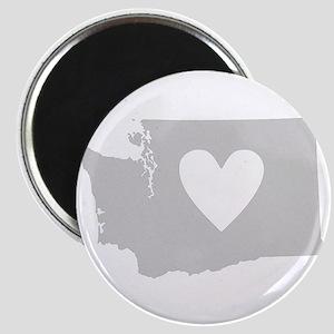 Heart Washington Magnet