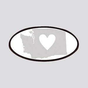 Heart Washington Patches