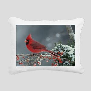 Cardinal  Rectangular Canvas Pillow
