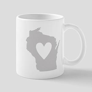 Heart Wisconsin Mug