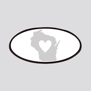 Heart Wisconsin Patches