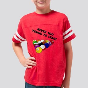 Never Too Young To Start Bill Youth Football Shirt
