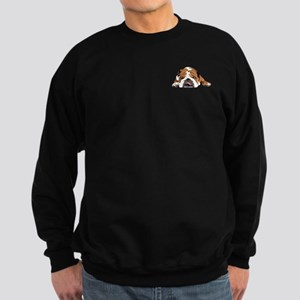 Teddy the English Bulldog Upper Chest Sweatshirt