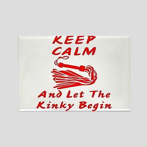 Let The Kinky Begin Rectangle Magnet