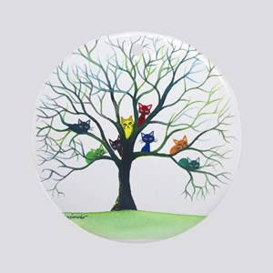 Eau Claire Stray Cats Round Ornament