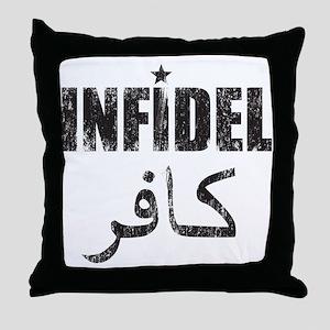 Original Infidel Throw Pillow