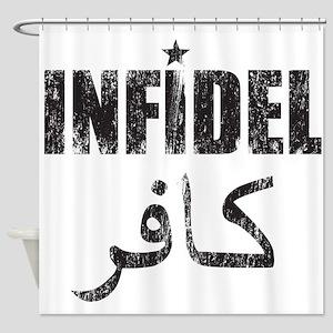 Original Infidel Shower Curtain