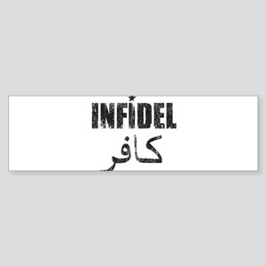 Original Infidel Sticker (Bumper)
