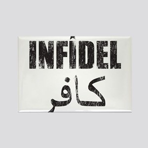 Original Infidel Rectangle Magnet