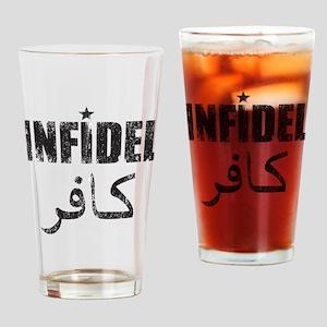 Original Infidel Drinking Glass