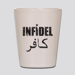 Original Infidel Shot Glass