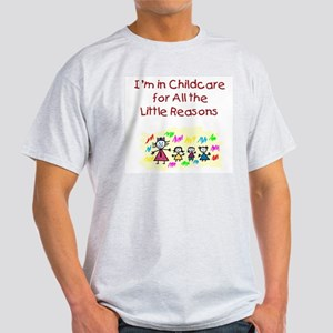 Little Reasons Ash Grey T-Shirt