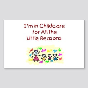 Little Reasons Rectangle Sticker
