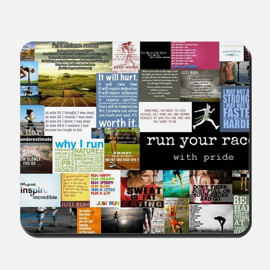 Running College Mousepad