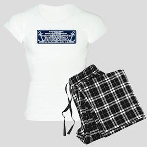 Caddyshack Yacht Club Poem Pajamas