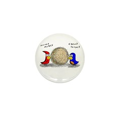 Bird Seed Ball Mini Button (10 pack)