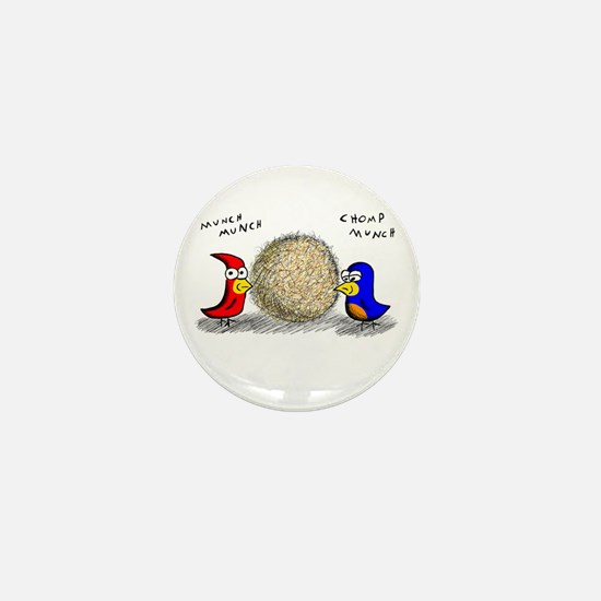 Bird Seed Ball Mini Button