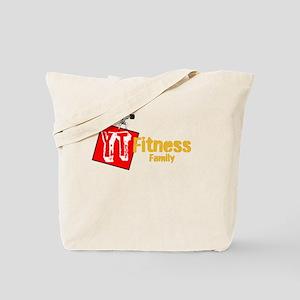 YT Fitness Family Tote Bag