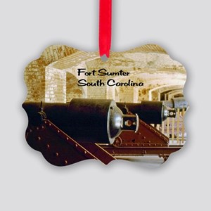 Fort Sumter Picture Ornament