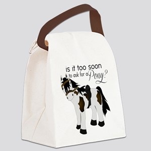 Is it too soon to ask for a Pony Canvas Lunch Bag
