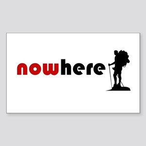 Nowhere (Hiker) Sticker