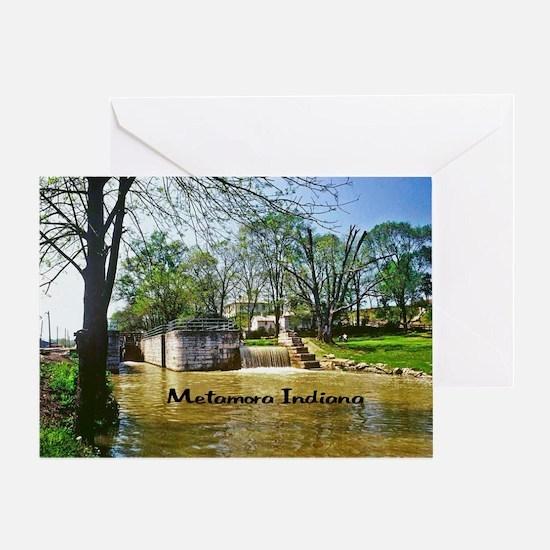 Metamora Indiana Greeting Card