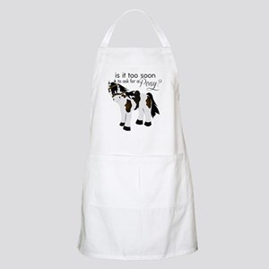 Is it too soon to ask for a Pony Apron