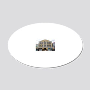 Nassau Lodge 20x12 Oval Wall Decal