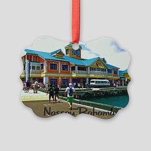 Nassau Bahamas Picture Ornament
