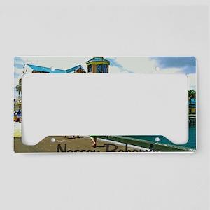 Nassau Bahamas License Plate Holder