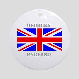 Oldbury England Ornament (Round)