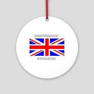 Smethwick England Ornament (Round)