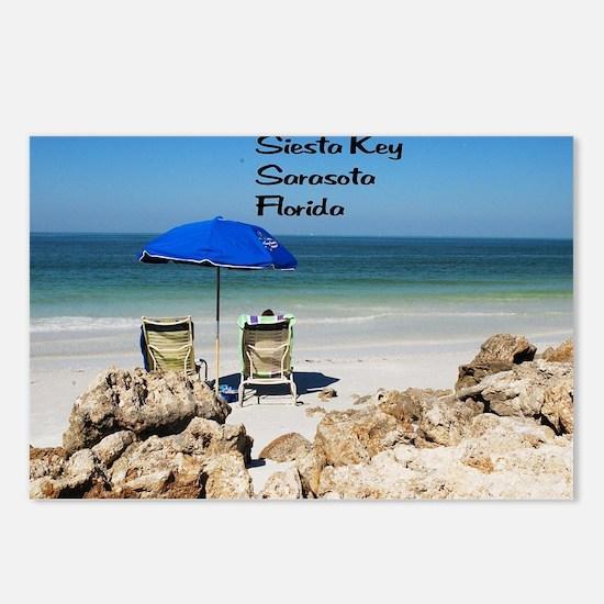 Siesta Key Postcards (Package of 8)