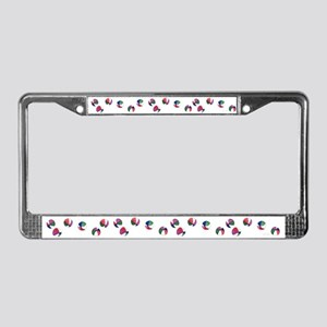 Beach Balls License Plate Frame