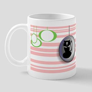 Retro Holly Girl Mug