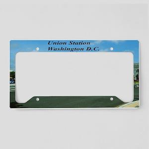 Union Station License Plate Holder