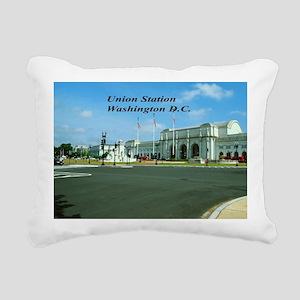 Union Station Rectangular Canvas Pillow
