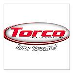 "Torco Accelerator Square Car Magnet 3"" x 3"""