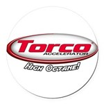 Torco Accelerator Round Car Magnet
