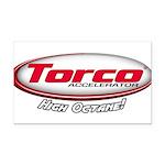 Torco Accelerator Rectangle Car Magnet